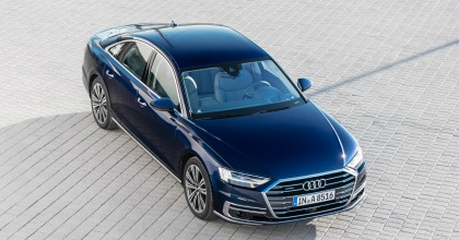 Nuova Audi A8 linee