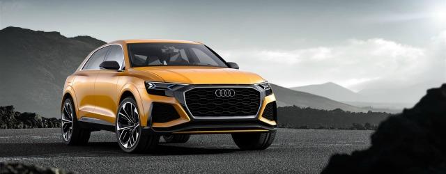nuova Audi Q8 Sport Concept 2017