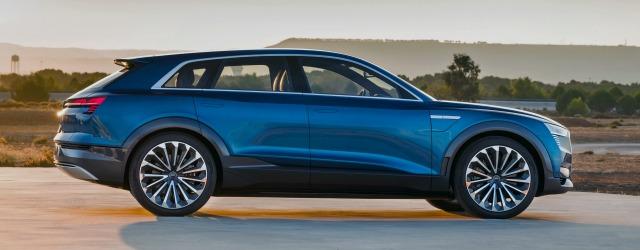 partnership Enel Audi per la nuova Audi e-tron
