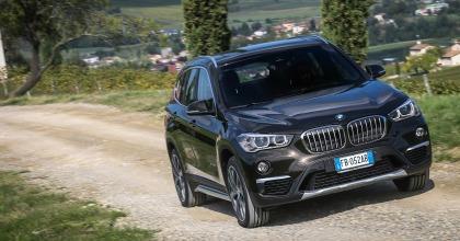 Le linee esterne della nuova BMW X1