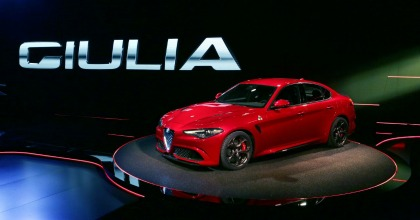 nuova Alfa Giulia 2015