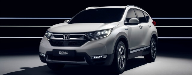 nuova Honda CR-V ibrida 2018