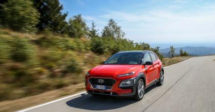 nuova Hyundai Kona dinamica