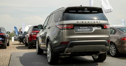 nuova Land Rover Discovery 2017 Fleet Motor Day