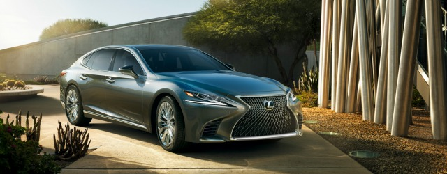 nuova Lexus LS 2018