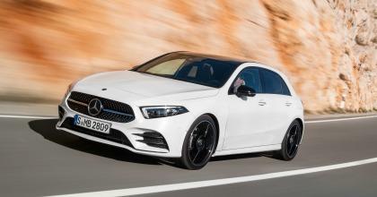 nuova Mercedes Classe A 2018 dinamica