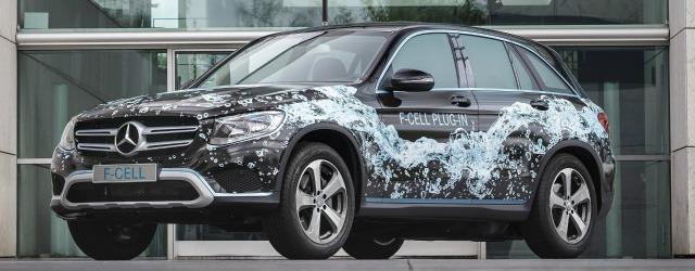 nuova Mercedes GLC F-Cell