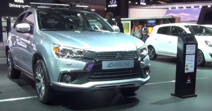 La nuova Mitsubishi ASX 2016