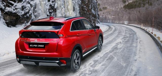 nuova Mitsubishi Eclipse Cross 2018, test drive