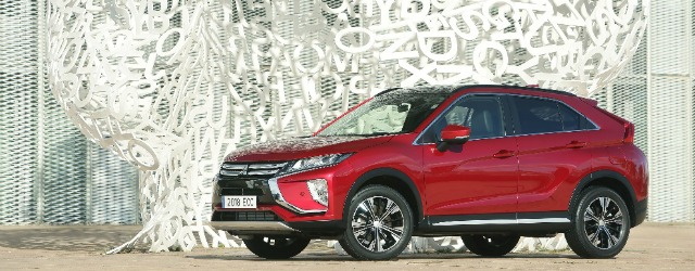 nuova Mitsubishi Eclipse Cross Milano Design Week 2018