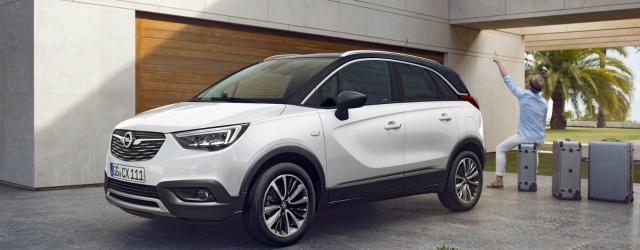 nuova Opel Crossland X 2017 lancio europeo