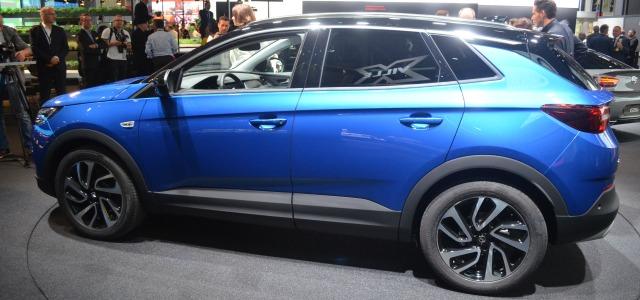 nuova Opel Grandland X, Salone di Francoforte