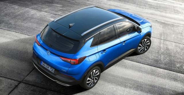 nuova Opel Grandland X off road