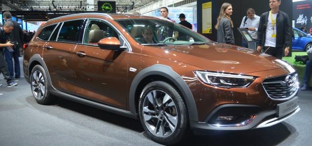 nuova Opel Insignia Country Tourer, Salone di Francoforte