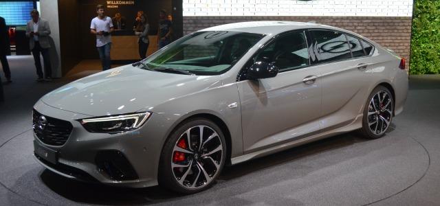nuova Opel Insignia GSi, Salone di Francoforte