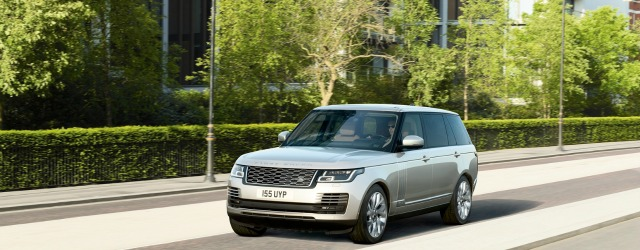 nuova Range Rover 2018 ibrida