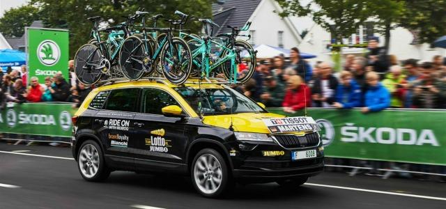 nuova Skoda Karoq tour de France