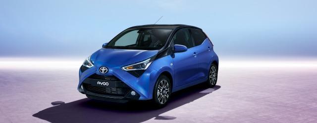 nuova Toyota Aygo Salone Ginevra 2018