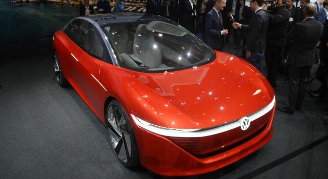 nuova Volkswagen ID Vizzion