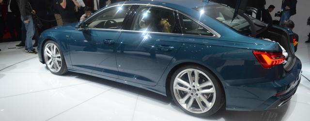 Nuova Audi A6 statica al Salone di Ginevra 2018