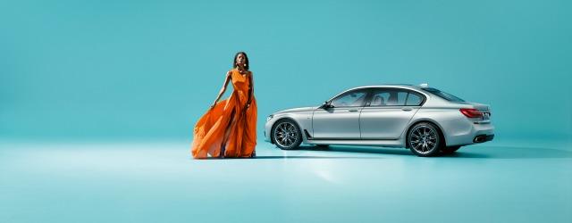 La nuova BMW Serie 7 40 Years Edition nella finitura Frozen Silver