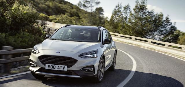La Nuova Ford Focus Active, il crossover entrato in gamma