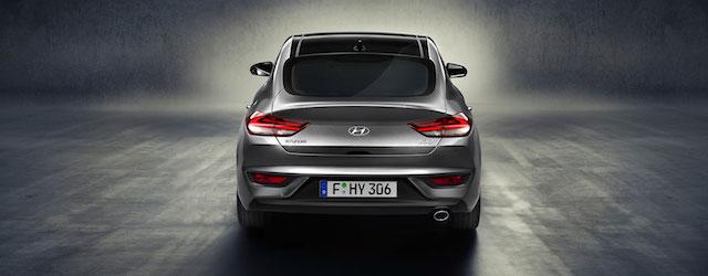 Il posteriore della nuova Hyundai i30 Fastback