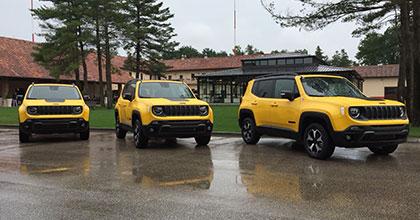 nuova jeep Renegade 2019