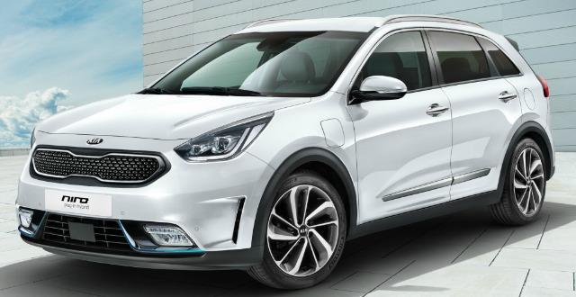 nuova kia niro plug-in hybrid 2017
