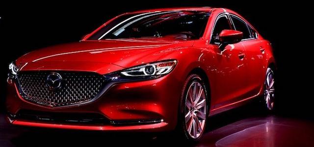 La Nuova Mazda 6 al Salone di Los Angeles 2017