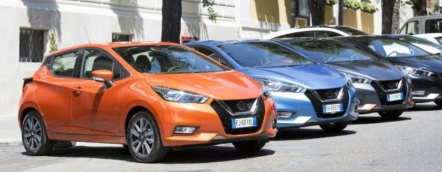 La nuova Nissan Micra comincia il tour d'Italia