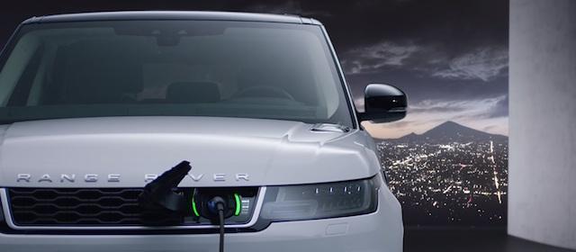 La nuova Range Rover Sport 2018 sarà proposta anche nella versione Plug-in Hybrid