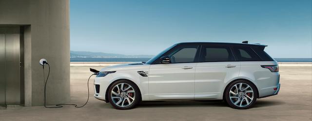 La nuova Range Rover Sport 2018 sarà proposta anche in versione Plug-in Hybrid