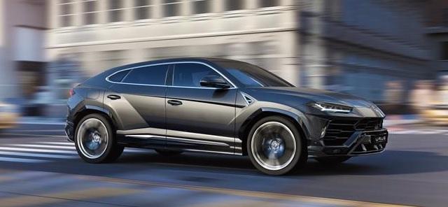 Nuovo Suv Lamborghini Urus