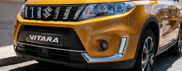 Nuova Suzuki VITARA, nuova griglia e calandra