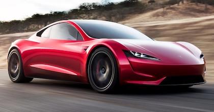 La Nuova Tesla Roadster è attesa nel 2020