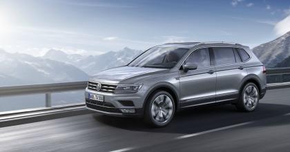 Nuova Volkswagen Tiguan Allspace tra i SUV Volkswagen