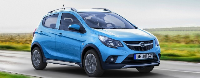 nuove citycar 2017 Opel Karl Rocks