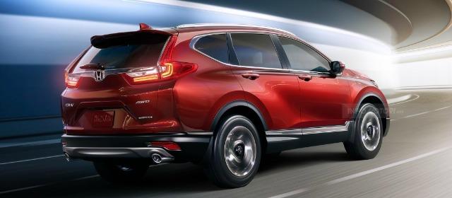 nuovo Honda CR-V ibrido 2018