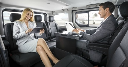 interni nuovo Opel Vivaro Tourer 2018