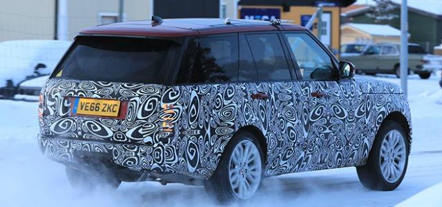 nuovo Range Rover 2018 foto spia