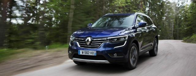 nuovo Renault Koleos 2017 flotte aziendali