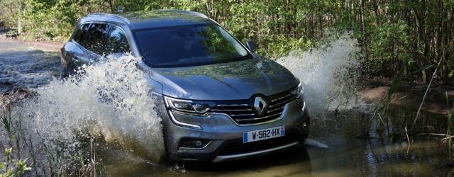 nuovo Renault Koleos 2017 off road