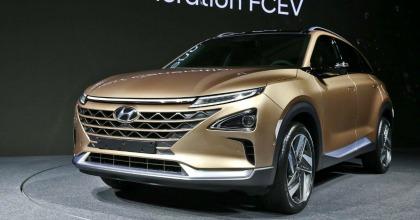 nuovo Suv Fuel Cell Hyundai