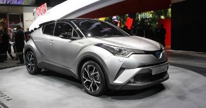 esterni nuovo Toyota CH-R 2016