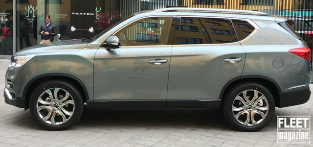 Il nuovo SsangYong Rexton 2017