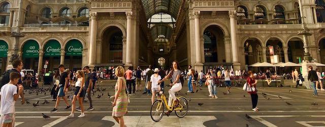 OFO ha portato a Milano il bike sharing a flusso libero