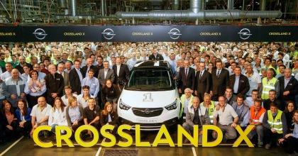 Opel Crossland X -avviata la produzione