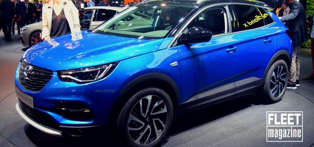 Opel Grandland X al Salone di Francoforte 2017