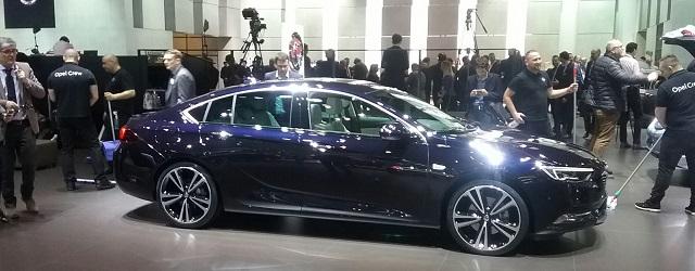 Opel Insignia Ginevra 2017